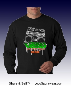 NEW 2010 ChiTown ViBES Long Sleeve Shirt Design Zoom