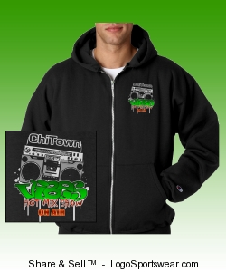 ChiTown ViBES zipper hood Design Zoom